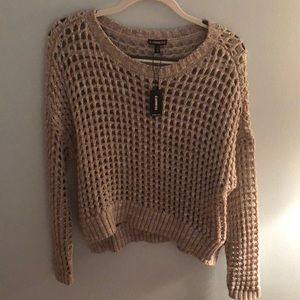 Sweater with holes, fits XS-M